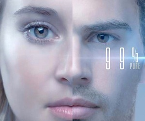 divergent, tris and four, and fris image