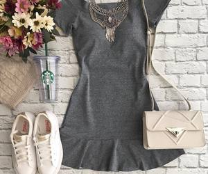 dress, fashion, and look image