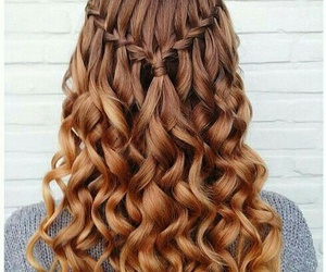 hair, hairstyle, and braid image