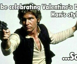 funny, solo, and star wars image