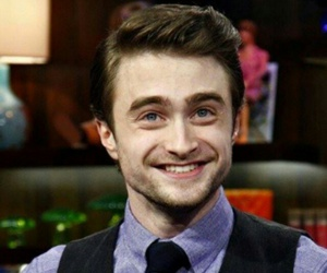 daniel radcliffe and smile image