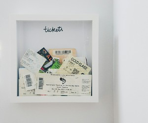 ticket, diy, and travel image