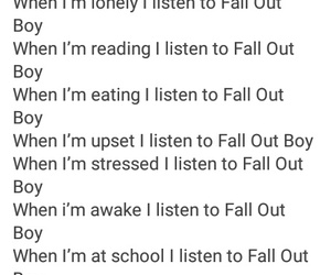 fall out boy, music, and ♡ image