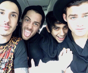 crown the empire, andy leo, and brandon hoover image