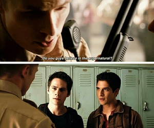 teen wolf, stiles, and teenwolf image