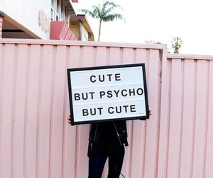 Psycho, cute, and girl image