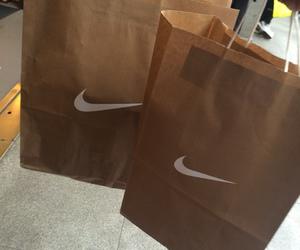 nike, shopping, and bag image