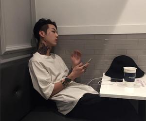 boy, ulzzang, and tattoo image