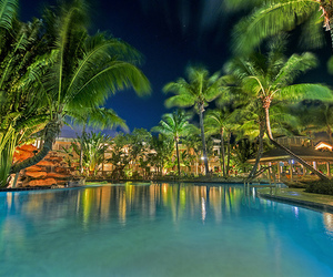 nature, pool, and vyer image