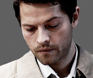 castiel, supernatural, and angel image