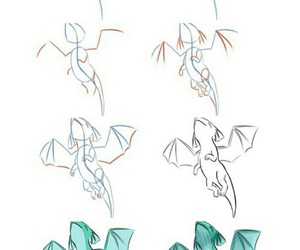 dragon and how to draw image