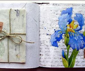 art, iris, and paint image