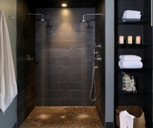 bathroom, home, and shower image