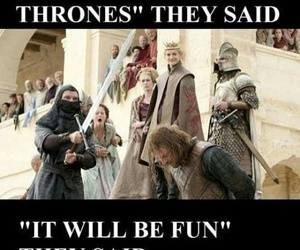 game of thrones and ned stark image