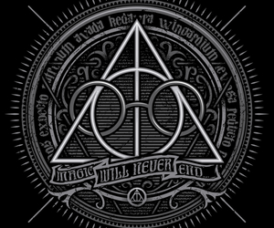 always, magic, and potter image