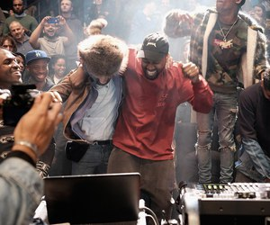 kanye west, kid cudi, and the life of pablo image