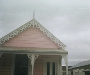 house, pink, and kawaii image