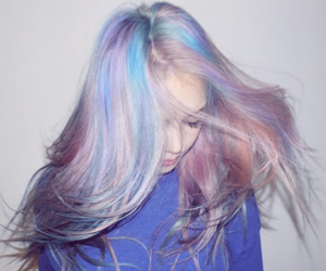 hair, grunge, and pastel image