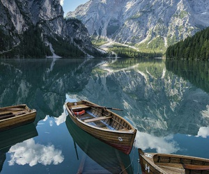nature, mountains, and italy image