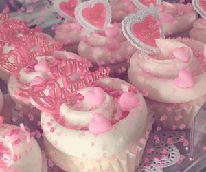cake, cupcake, and girly image