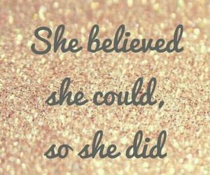 gold, quotes, and sparkle image