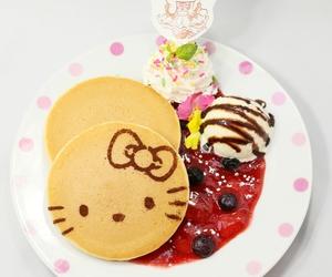 food, hello kitty, and yummy image