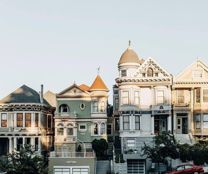 city, house, and san francisco image
