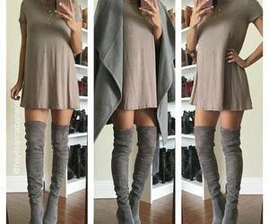 coat, outfits, and fashion image
