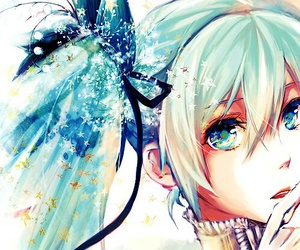 anime, vocaloid, and hatsune miku image