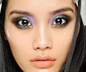beauty, mua , and eyes image