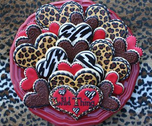 Cookies, heart, and sweet image