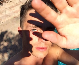 boy, colton haynes, and eyes image