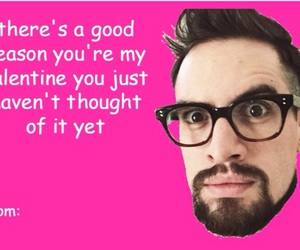 Valentine's Day and brendon urie image