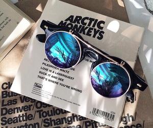 arctic monkeys, sunglasses, and music image