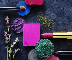 colors, cosmetics, and pink image