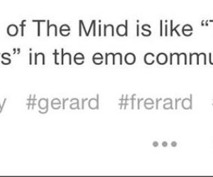 mcr, my chemical romance, and frerard image