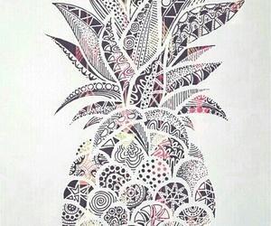 pineapple, wallpaper, and art image