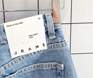 jeans, blue, and denim image