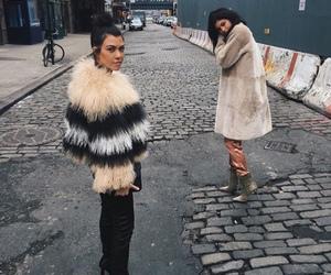 kylie jenner, kourtney kardashian, and kardashian image