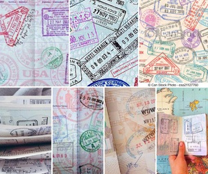 dreams, passport, and tattooed image