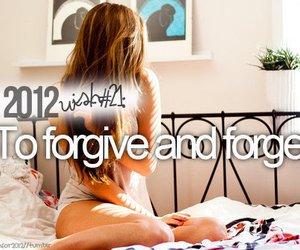 2012, forget, and forgive image
