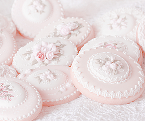 pink, Cookies, and cute image