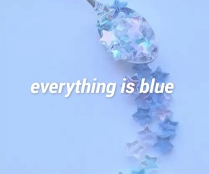 blue, halsey, and colors image