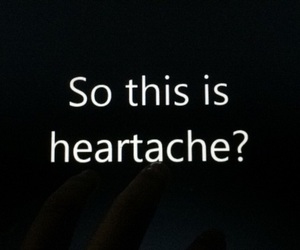 feels, heartache, and Lyrics image