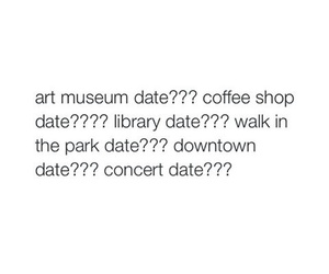 coffee shop, concert, and date image