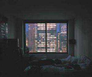 city, room, and night image