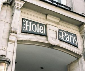 paris, hotel, and vintage image