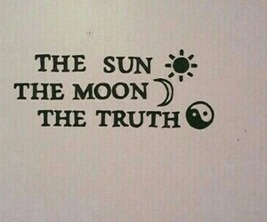 sun, moon, and truth image