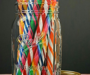 sweets, candy sticks, and candy peppermint sticks image