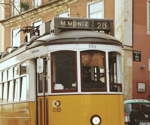 lisbon, Ⓛⓘⓢⓑⓞⓐ, and tram image